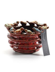 Villa Pottery  Rode pot Trinidad