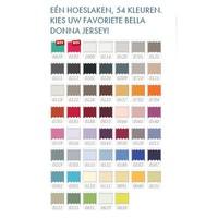 Bella Donna Jersey Hoeslaken - Blauwgrijs (0209)