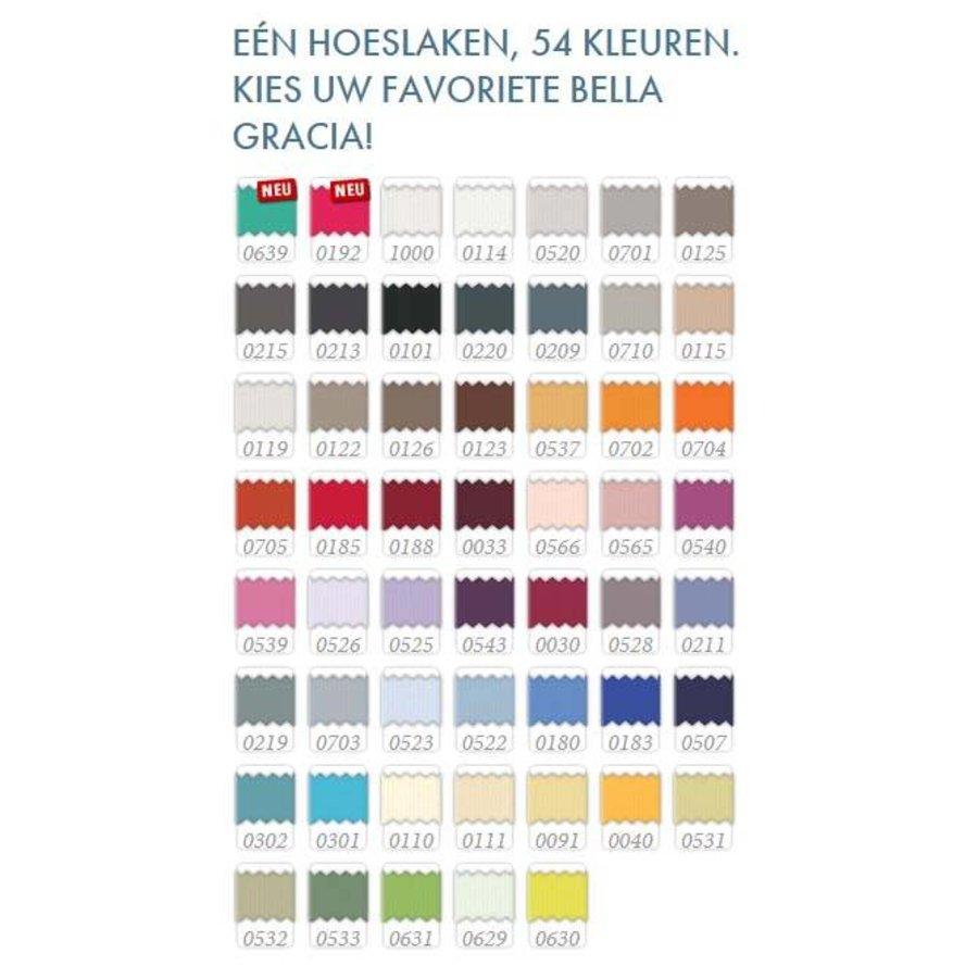 Bella Gracia Jersey Hoeslaken - Lichtgrijs (0703)