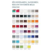 Bella Gracia Jersey Hoeslaken - Azuur (0180)