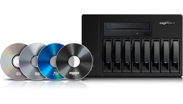 Zappiti  Zappiti NAS RIP 4K HDR Aanbieding uit vooraad leverbaar