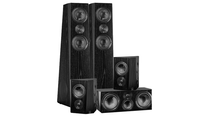 SVS Ultra Tower Surround Systeem