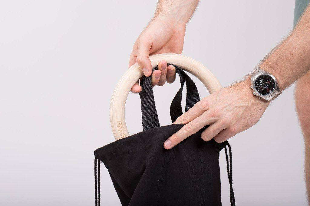 Practical beach bag  to transport your workout equipment