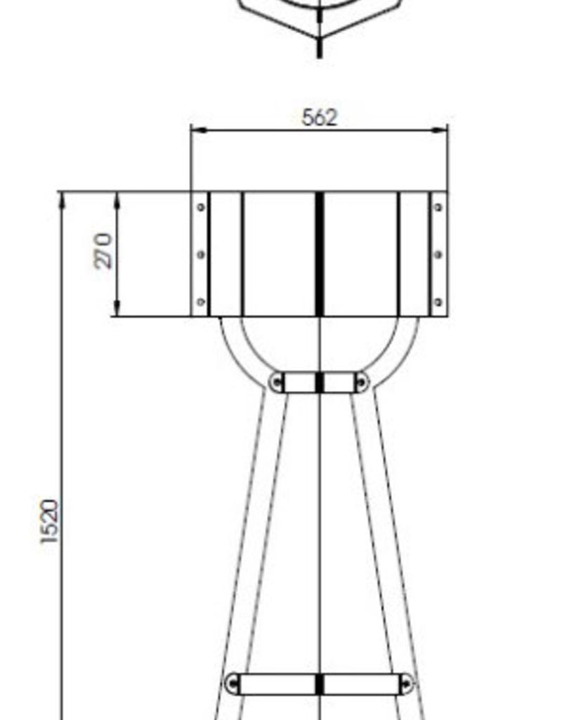 CortenstaalLlamp