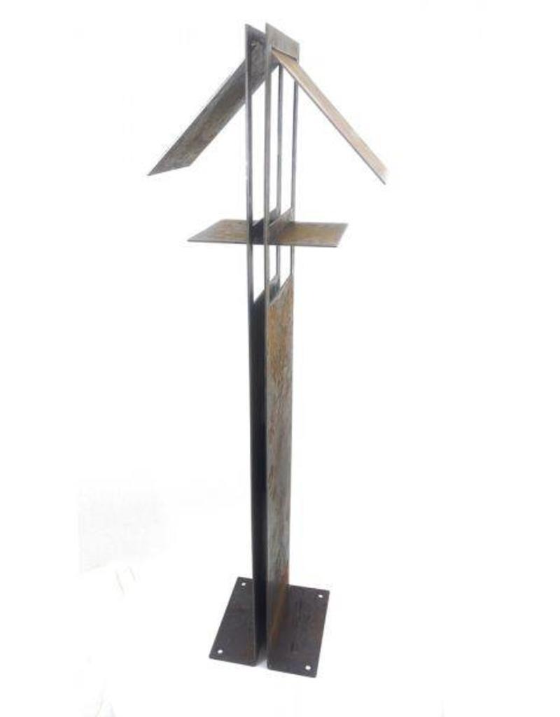 Cortenstaal Vogelvoederhuisje