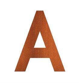 Cortenstaal Letters