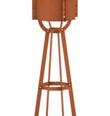 Valo lamp Cortenstaal