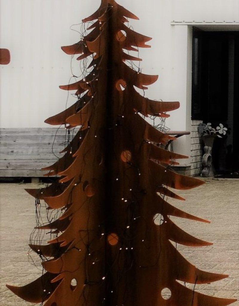 Cortenstaal Kerstboom - groot
