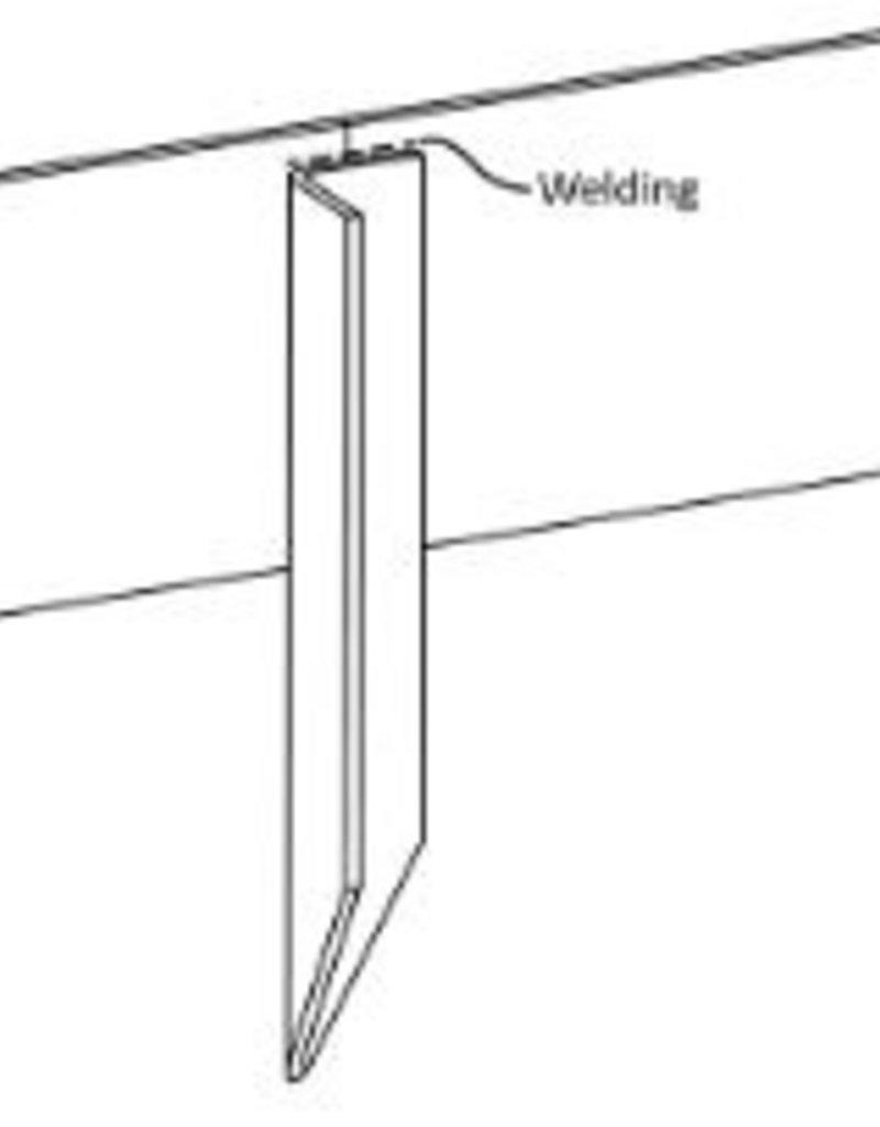 Cortenstaal Piketpalen/Pennen (25st)