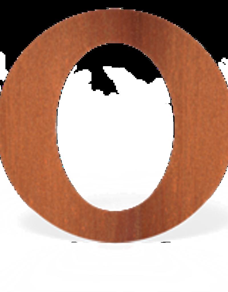 Cortenstaal Rozet Ovaal