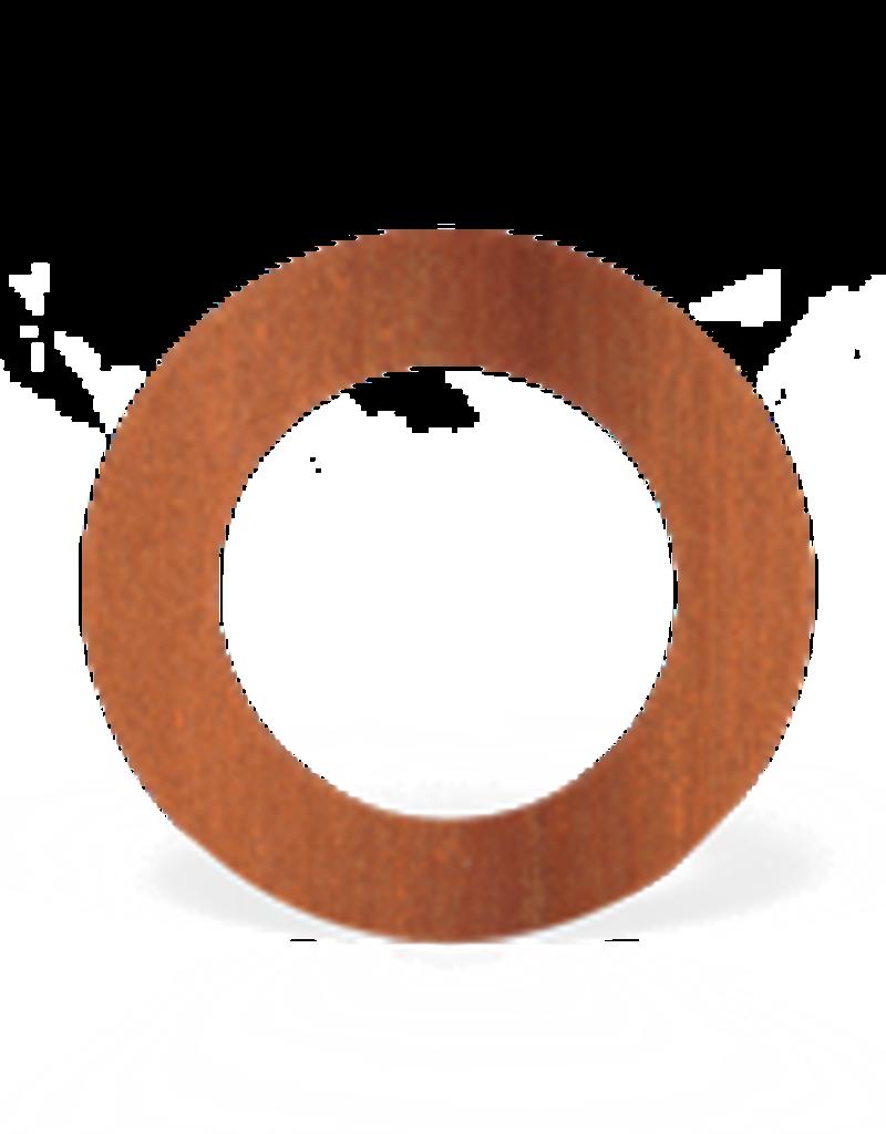 Cortenstaal Rozet Rond