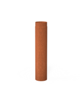 Cortenstaal rookgasafvoer 154x500 mm