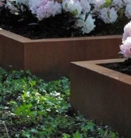 Cortenstaal Plantenbak Zonder Bodem