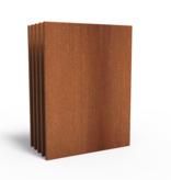 Cortenstaal Tuinscherm/Sfeerpaneel Basis