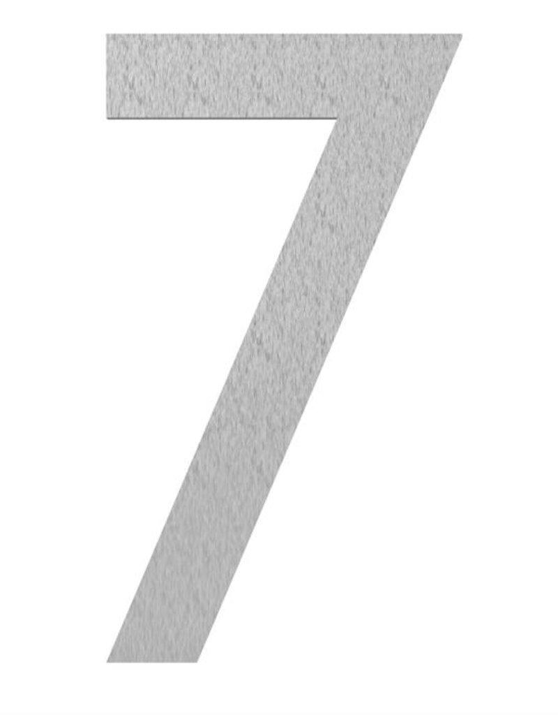 RVS huisnummers 0 t/m 9