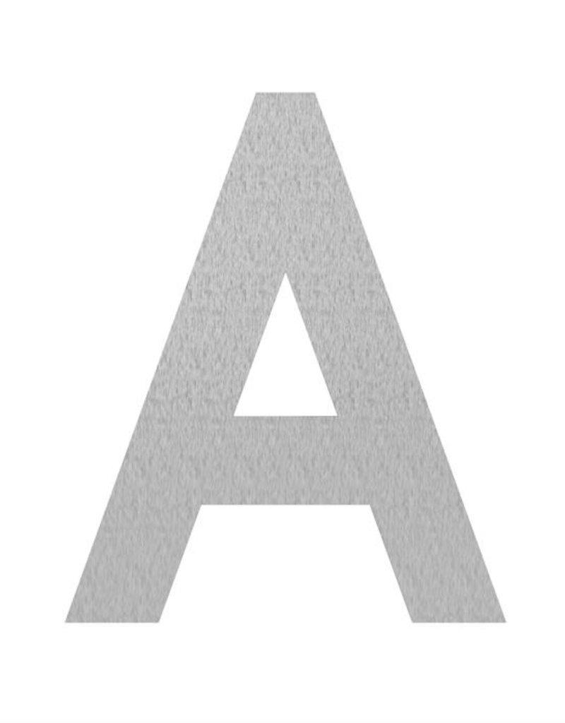 RVS letters A t/m D