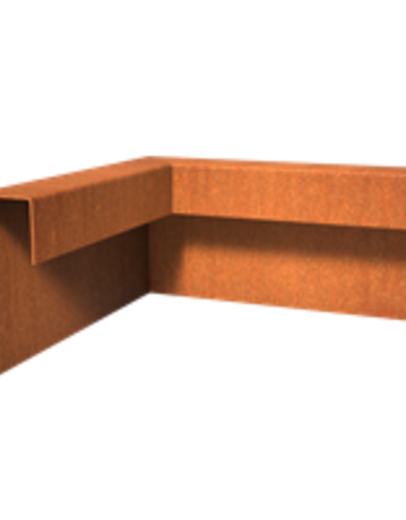 Cortenstaal Overzet profielen Binnen- Buitenhoek