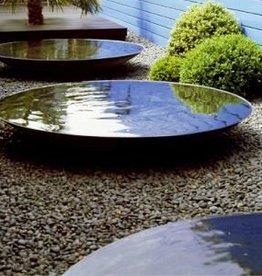 Cortenstaal Waterschaal  60, 80, 100, 120, 150 en 200 cm