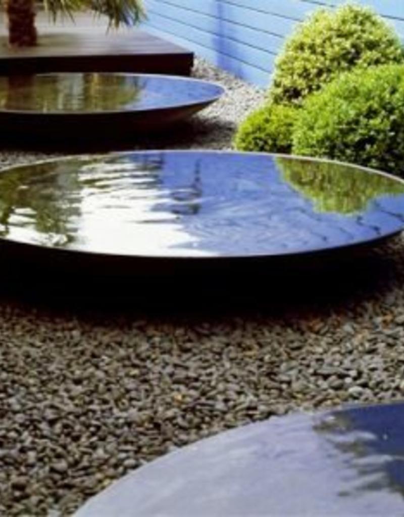 Cortenstaal Waterschaal 80, 100, 120, 150 en 200 cm