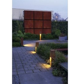 RUSTY SLOT 50 LED Cortenstaal 1xLED 3000K Incl Lichtbron