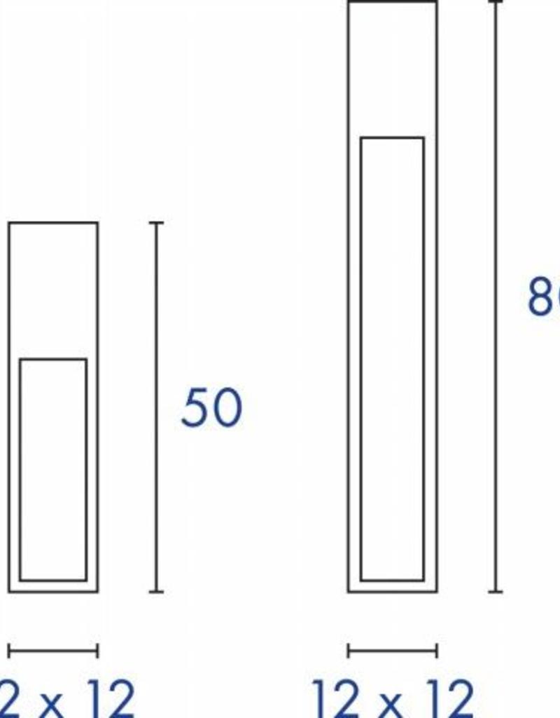 SLV RUSTY SLOT 80 Cortenstaal 1xE27 buitenverlichting