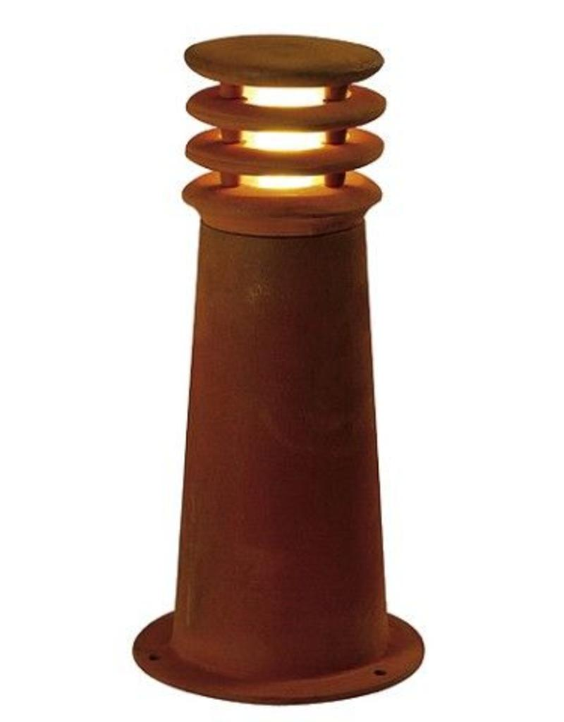 SLV RUSTY 40 LED Cortenstaal 1xLED 3000K Incl Lichtbron