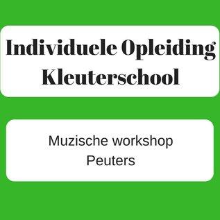 Muzische workshop Peuters - 15/01/2021