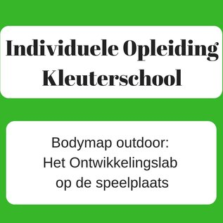 Bodymap outdoor:  Het Ontwikkelingslab op de speelplaats  - 28/01/2022