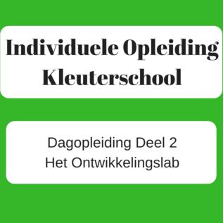 Deel 2 Ontwikkelingslab kleuterschool ONLINE (live)  - 22/11/2021
