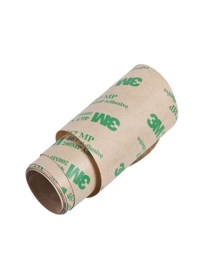 Gusset TEK Tape Frame Protector, Clear Self Adhesive Frame Protector Film Tape (Roll) - 75mm Wide 0.2mm Thick 1.5m Long