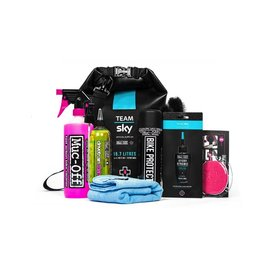 Muc Off Muc-Off Team Sky Cleaning Kit Inc Free Tam Sky Dry Bag