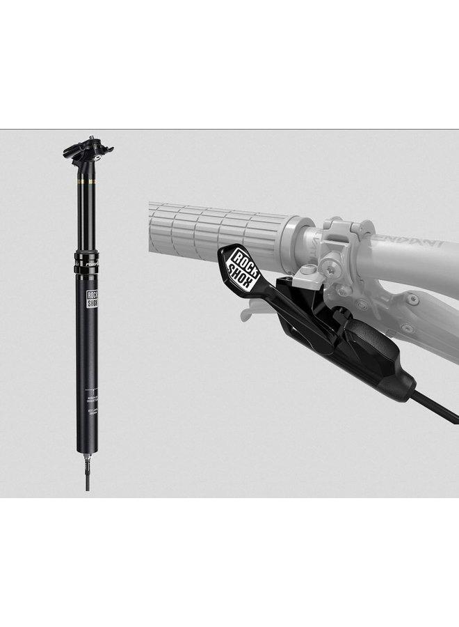 Rockshox Reverb Stealth B1 1X Remote 31.6mm 150mm 440mm (LEFT/BELOW) 2000MM CONNECTAMAJIG Inc Bleed Kit and Matchmaker Mount.