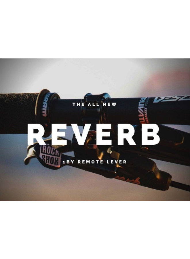 2020 ROCKSHOX SEATPOST REVERB STEALTH - PLUNGER REMOTE (RIGHT/ABOVE, LEFT/BELOW) 30.9 BLACK (INCLUDES BLEED KIT & MATCHMAKER X MOUNT) C1: BLACK 30.9MM X 414MM 150MM