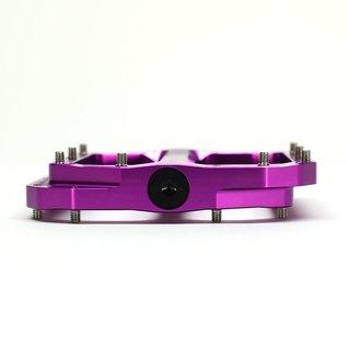 Burgtec Burgtec Penthouse MK4 Flat Pedals Steel Axle - Purple