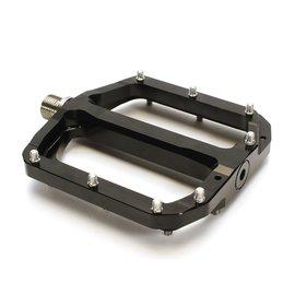 Burgtec Burgtec Penthouse MK4 Flat Pedals Steel Axle - Black