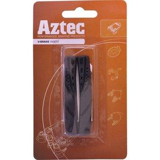 Aztec Aztec V-Brake Insert Replacement Brake Blocks X1 Pair