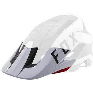 Fox Fox Metah Peak Visor Flow White/Black/Red