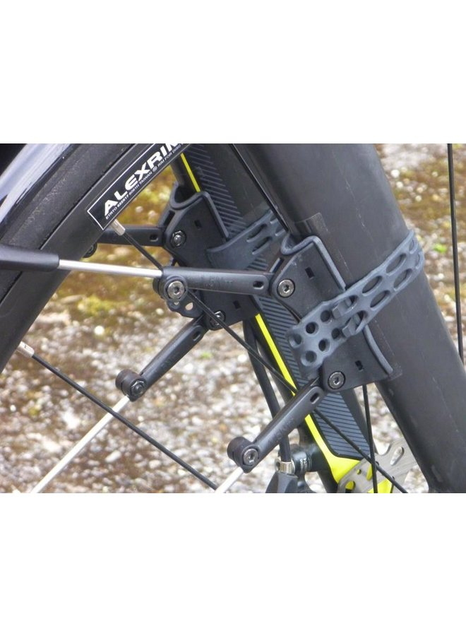 SKS Race Blade Pro XL Mudguard Set Black