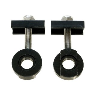 Savage Savage Chain Tug/Tensioners 10mm and 14mm Alloy Black