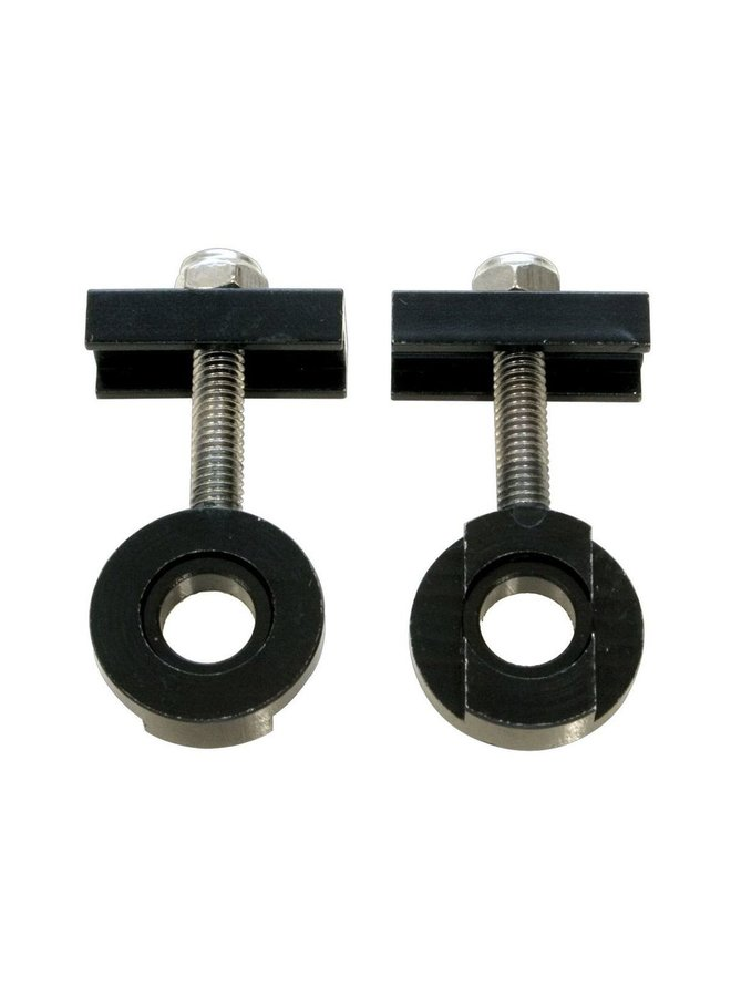 Savage Chain Tug/Tensioners 10mm and 14mm Alloy Black