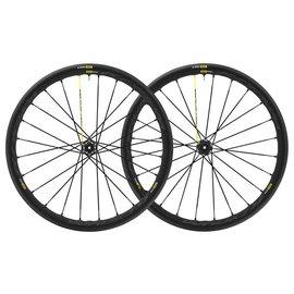Mavic Mavic Ksyrium Pro Disc UST Tubeless Road Wheels 12x142 Centre Lock 25c Tyres Shimano  Pair