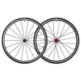 Mavic Mavic 2019 Ksyrium Elite Road Wheels UST Tubeless Shimano 25c Tyre Red Pair