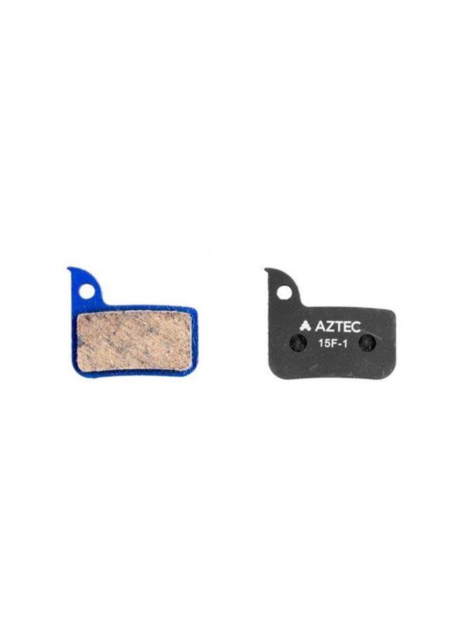Aztec Organic Disc Brake Pads For Sram Red/Level & SRAM HYdraulic Road Discs ORGANIC