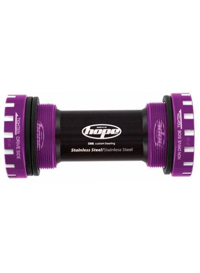 Hope Bottom Bracket Stainless Fits 68/73/83mm Frames 30mm Axle