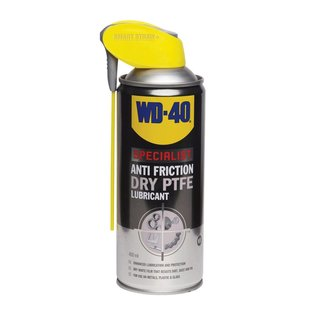 WD-40 WD-40 Specialist Anti Friction Dry PTFE Lube 400ml Aerosol