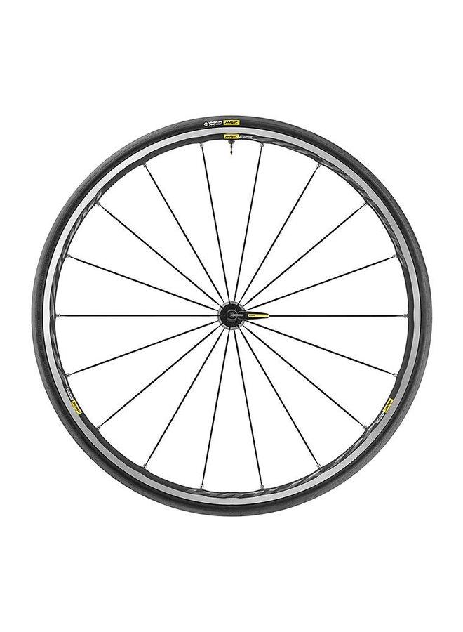 Mavic 2019 Ksyrium Elite Road Wheels UST Tubeless Shimano 25c Tyre Black Pair