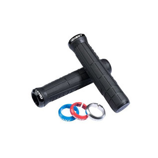 Giant Giant Swage Single Lock On Grips Black/Black
