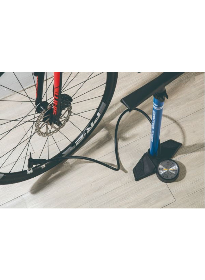 Giant Control Tower 2 Track Pump Blue