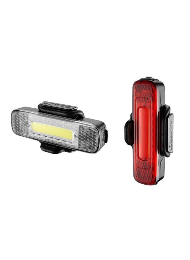 Giant Lights Spark Mini Combo Pack Front and Rear