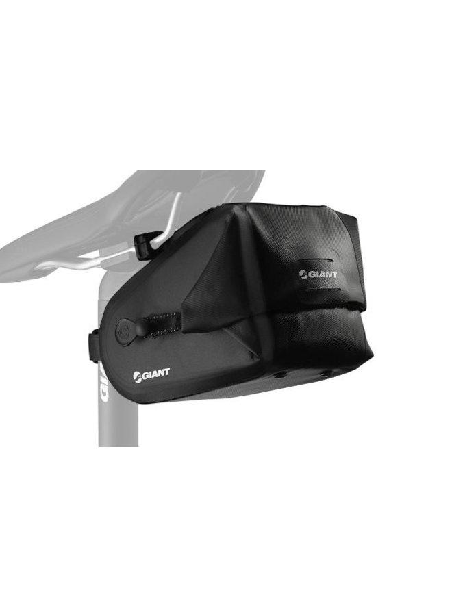 Giant Waterproof Saddle Bag Black Large
